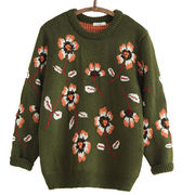 Knitted pullover sweater Manufacturer