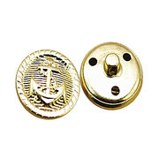 Metal button from China (mainland)