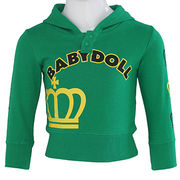 Green Baby doll Baby Coat Manufacturer