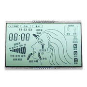 China 3-1/2 Digit Standard LCD Panel, Available with Low Battery