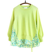 Women sweater with chiffon Manufacturer