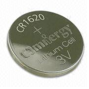 Lithium/Manganese Dioxide Button-cell Battery with 70mAh Nominal Capacity, for Car Alarm System from Power Glory Battery Tech (HK) Co. Ltd