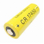 Hong Kong SAR CR17450 - Manganese Dioxide Cylindrical Battery with Current of 3,000mA, for Remote Control Units