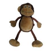 Short Plush Monkey for Pet, EN 71/ASTM Test from Anhui Light Industries International Co. Ltd