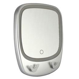 Waterproof Bathroom Men's Shaving mirror with LED lighting, 3X magnification