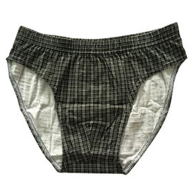 Men's relaxed briefs from China (mainland)