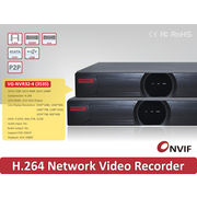 China H.264 Onvif 32CH NVR 720P,16CH 1080P,1080P Playback, 4 SATA HDD, P2P and iPhone, Android Remote View