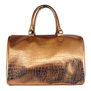 Rose gold croc PVC promotional fabric tote bags from China (mainland)