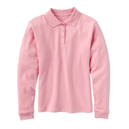 Girls' long-sleeved polo shirt Manufacturer