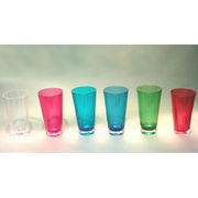 Unbreakable Tritan Acrylic Plastic BPA-free PC Customized Colorful Shatter-proof Drinking Glass from Dalco H.J. Co Ltd