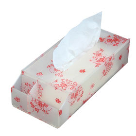 Tissue towel box from Taiwan