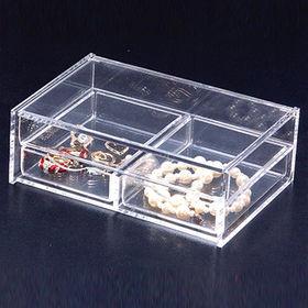 Desktop Acrylic Plastic Drawer Organizer from Taiwan