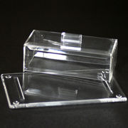 Acrylic butter dish from Taiwan