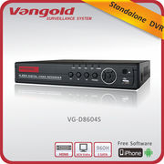 China 4CH 960H Real Time DVR, 960H Playback, RS485, HDMI and PTZ, 1 SATA HDD