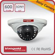 China Mini Vandal-proof 600TVL CCTV Camera, Nextchip 2041+639, 600 TVL Color CCD, IR Distance 10 Meters
