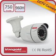 China Effio-V 750TVL CCTV Bullet Camera, 36pcs dia.5mm IR LED, IR Distance 30 Meters, 3D-DNR, OSD