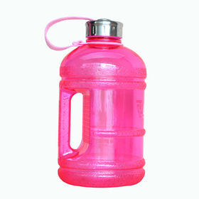 China Plastic water jug, PETG, 1.89L, wholesale, BPA-free, with handle (KL-8003)