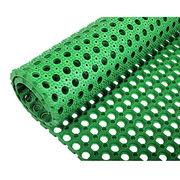 Green rubber grass mat from China (mainland)