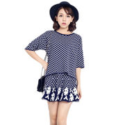 Two-piece dress knitted sweater from Hong Kong SAR