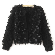 Lady's thick knitted sweater from Hong Kong SAR