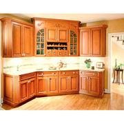 Solid Birch Kitchen Cabinet Manufacturer
