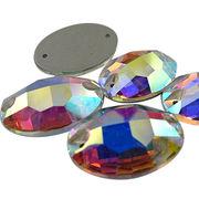 Glass stones from China (mainland)