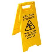 Two-side Wet Floor Sign Manufacturer