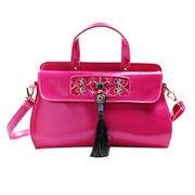 China 2015 Designer Women Leather Vintage Ethnic Bags