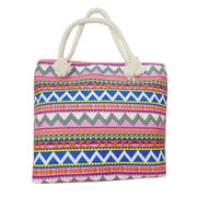 Zigzag Print Canvas Bags from China (mainland)