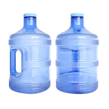 China 3.8L plastic water jug, wholesale BPA free with handle
