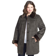Plus Size Faux Shearling Coat from China (mainland)