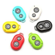 China Universal bluetooth remote shutter for all phone model, plastic material