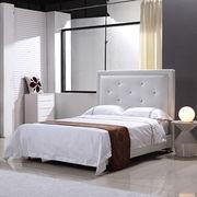 Hotel leather bed Manufacturer
