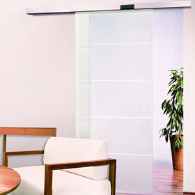 Automatic Frameless Sliding Door System from Door & Window Hardware Co