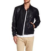 Men's Fashion Design Leather Bomber Jackets Manufacturer