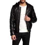 Shearling Leather Bomber Jackets Manufacturer