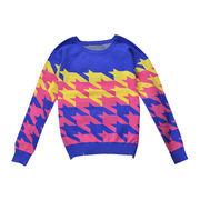Women, big pullover, splicing cashmere jumper from Meimei Fashion Garment Co. Ltd