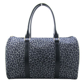 Leopard T/C weekend duffle, ideal for short trip, various colors/materials are available from Hangzhou J&H Trading Co. Ltd