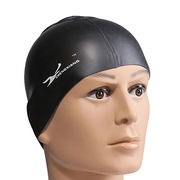 Waterproof silicone swimming cap from China (mainland)