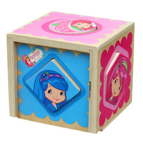 China 2015 educational wooden box toy
