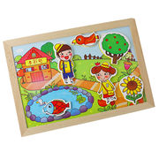 2015 children's wooden toy drawing white board from China (mainland)