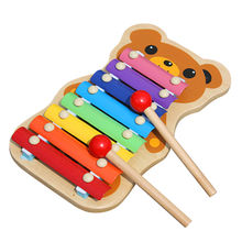 2015 hand wooden xylophone musical toys Manufacturer