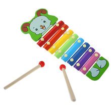 Wooden xylophone music toys Manufacturer