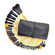 China Bamboo makeup brush sets