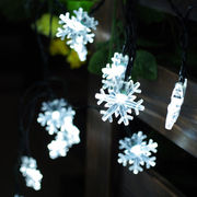 Outdoor Snowflake Lights String Solar Panel from China (mainland)