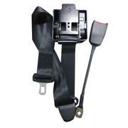 black 3-point retractable seat belt from China (mainland)