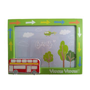 China Kids' photo frame with bus decor in green