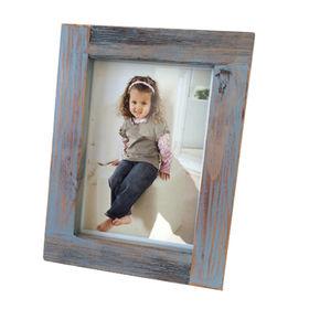 Distressed wood photo frame Manufacturer