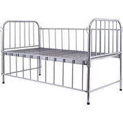 Stainless Steel High Rail Children's Bed Manufacturer