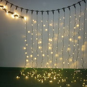 2M Warm White LED Christmas Curtain Lights Manufacturer